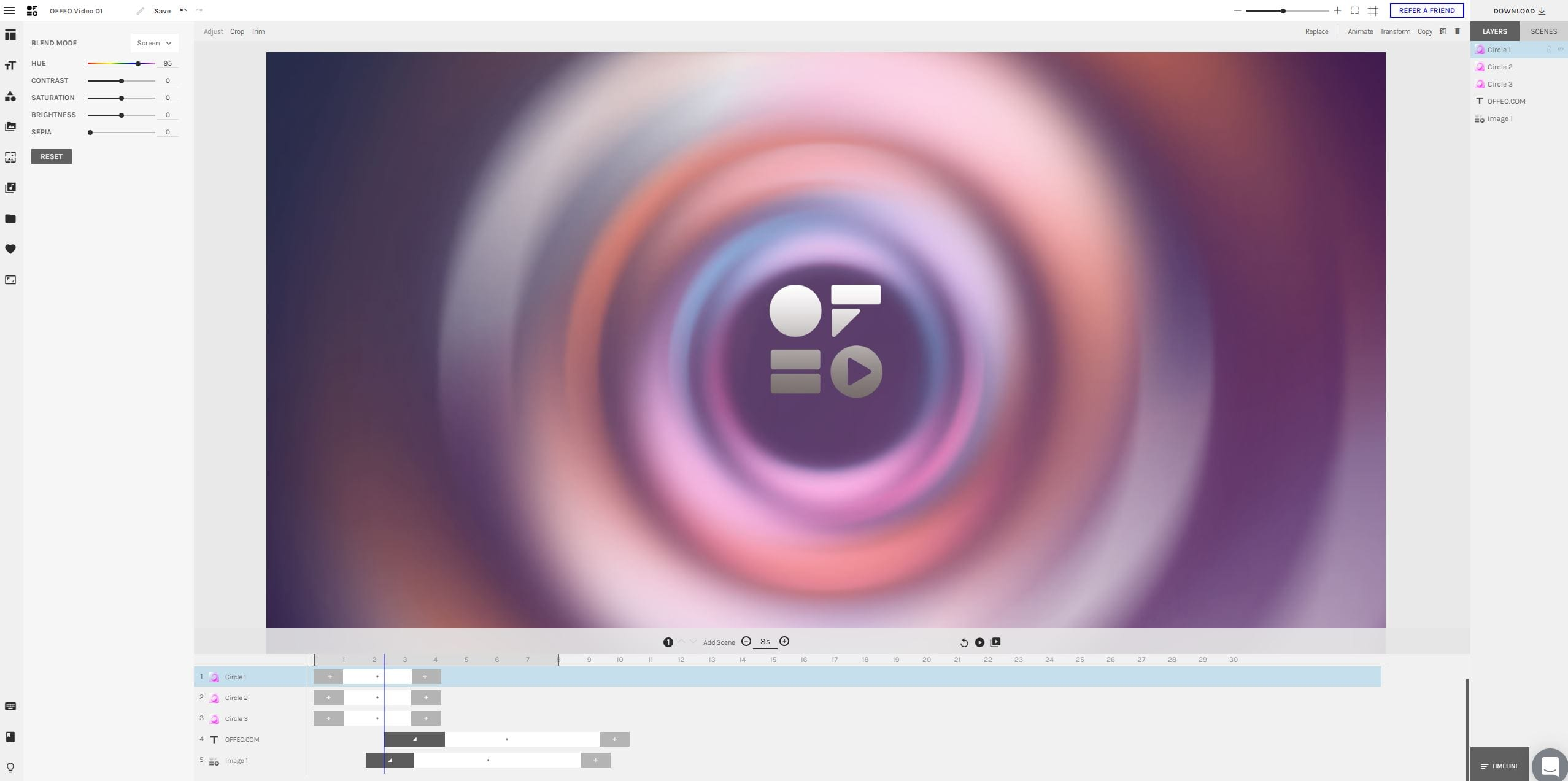 Logo Animation Maker Fully Customized The Perfect Animated Logo Offeo